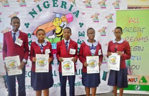 South South National Finalists,  National Finalists, Nigeria Spelling Bee
