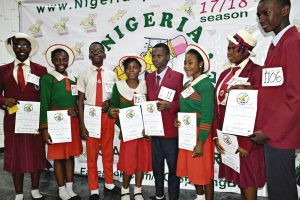 Nigeria Spelling Bee 2018 state qualifier Kwara