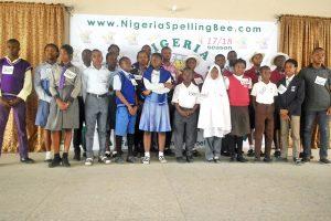 Nigeria Spelling Bee 2018 state qualifier Kaduna