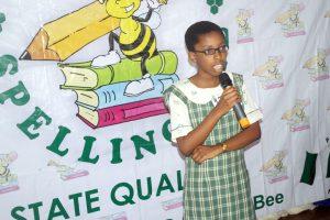 Nigeria Spelling Bee 2018 state qualifier Ekiti